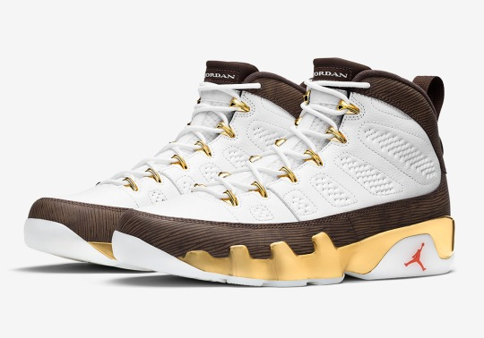 "Air Jordan 9 ""Mop Melo"" Celebrates Carmelo Anthony's 2003 Championship Run With Syracuse"