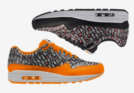 """Nike Has Another Tribute To The """"Just Do It"""" Slogan In Air Max 1 Form"""