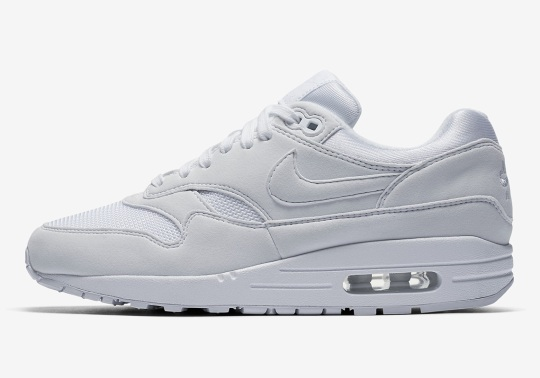 """Nike Air Max 1 """"Triple White"""" Set To Drop In May"""