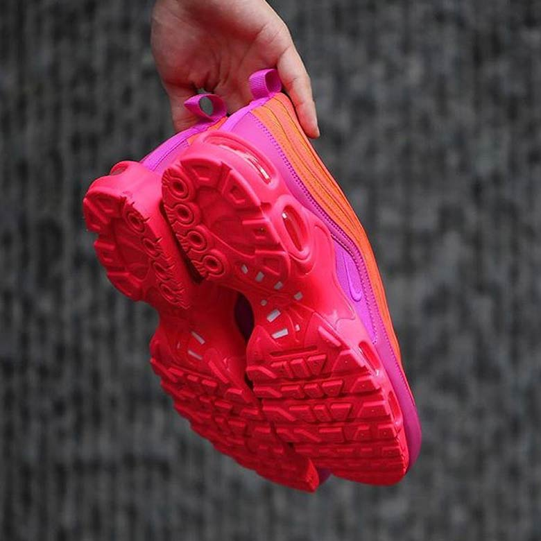 check out 0cb2d f6812 ... May 3, 2018. AVAILABLE AT Sneakersnstuff  175. Color  Racer Pink Hyper  Magenta-Total Crimson-Black Style Code  AH8144-600. Advertisement. Images   gc911