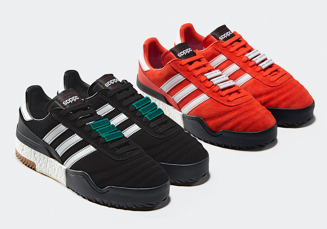 new arrivals af85c 74bc9 Alexander Wang And adidas Originals To Debut A Bball Soccer Shoe