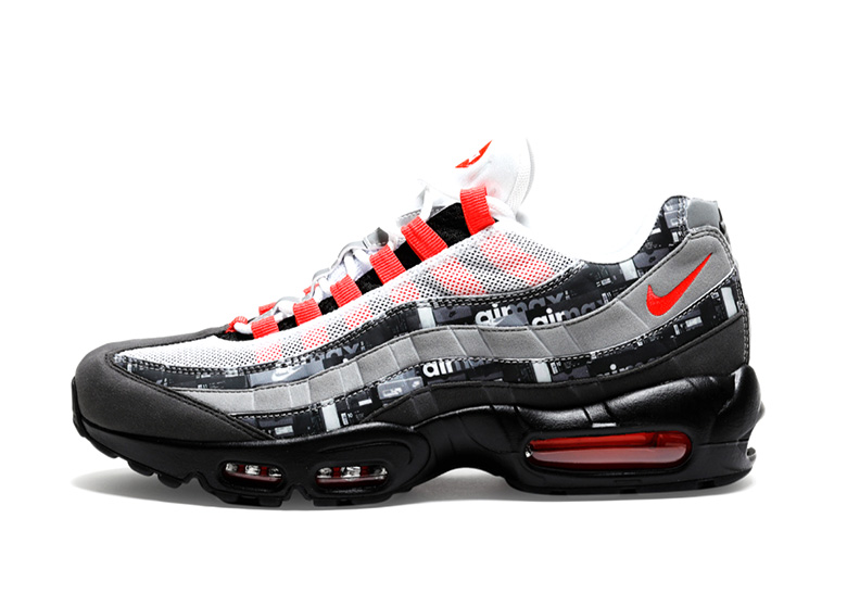 "431e7d9f57 atmos x Nike Air Max 90 ""We Love Nike"" Release Date: May 19, 2018  (Japan/EU) $140. Color: Black/Bright Crimson-White Style Code: AQ0926-001"