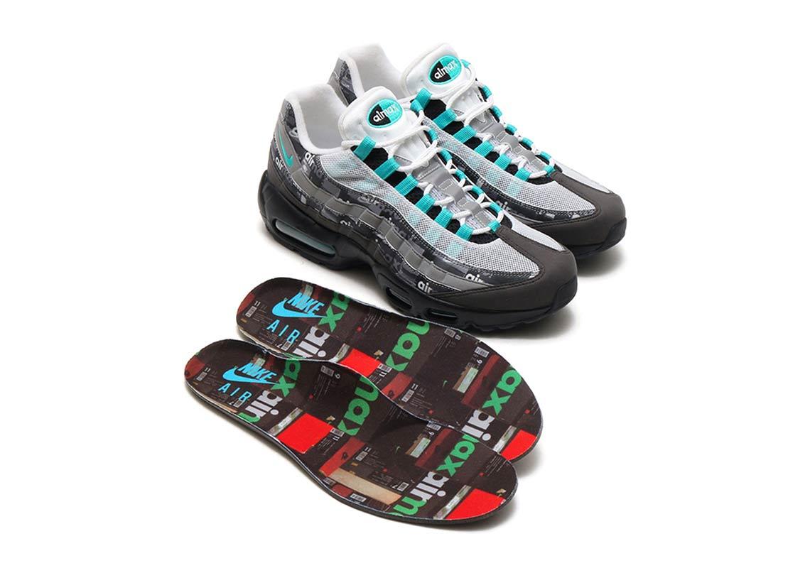 """ef07cffa8b ... Max 95 """"We Love Nike"""" Release Date: April 28, 2018 (Japan) Color: Black/Clear  Jade-Medium Ash-DK Style Code: AQ0925-001. Advertisement. Advertisement"""