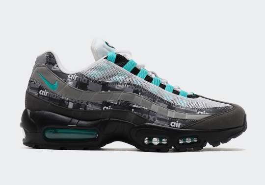 "A Closer Look At The atmos x Nike Air Max 95 ""Jade"" From The We Love Nike Pack"