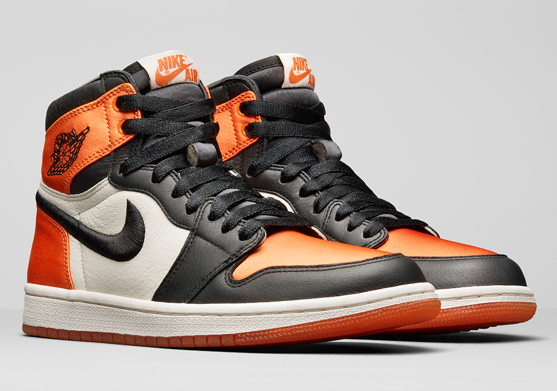 "new arrivals 5dea5 cdeac Air Jordan 1 Satin ""Shattered Backboard"" To Use Same Leather Materials As  The Original"