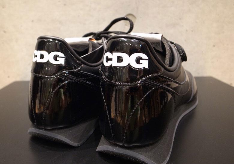 fbc6ad9ff128 COMME des Garcons x Nike Night Track Color  Black Black-White Style Code   AQ3695-001. Photos  memphis