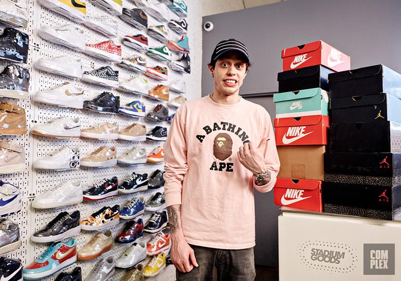 Complex Sneaker Shopping Pete Davidson