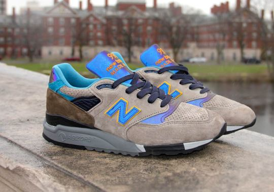 Concepts And New Balance Create A Mallard Duck-Inspired NB1 998