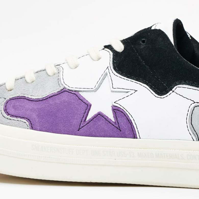 38a6f7bed5f5 Sneakersnstuff Brings Out 1960s Camo For Their Converse One Star ...