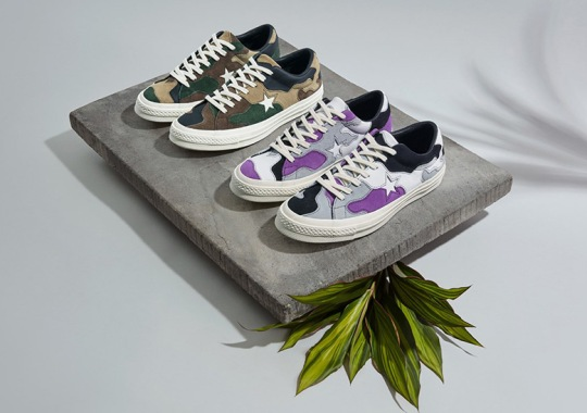 Sneakersnstuff Brings Out 1960s Camo For Their Converse One Star Collaboration