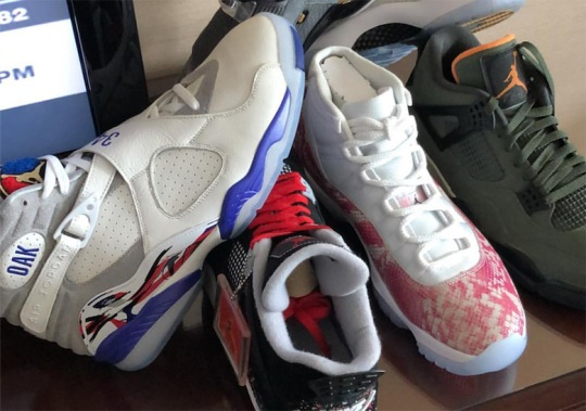 Chubbs Reveals Some Of Drake's Best Air Jordan PEs
