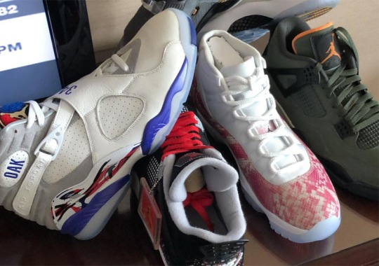 Chubbs Reveals Some Of Drake's Best Air Jordan PEs