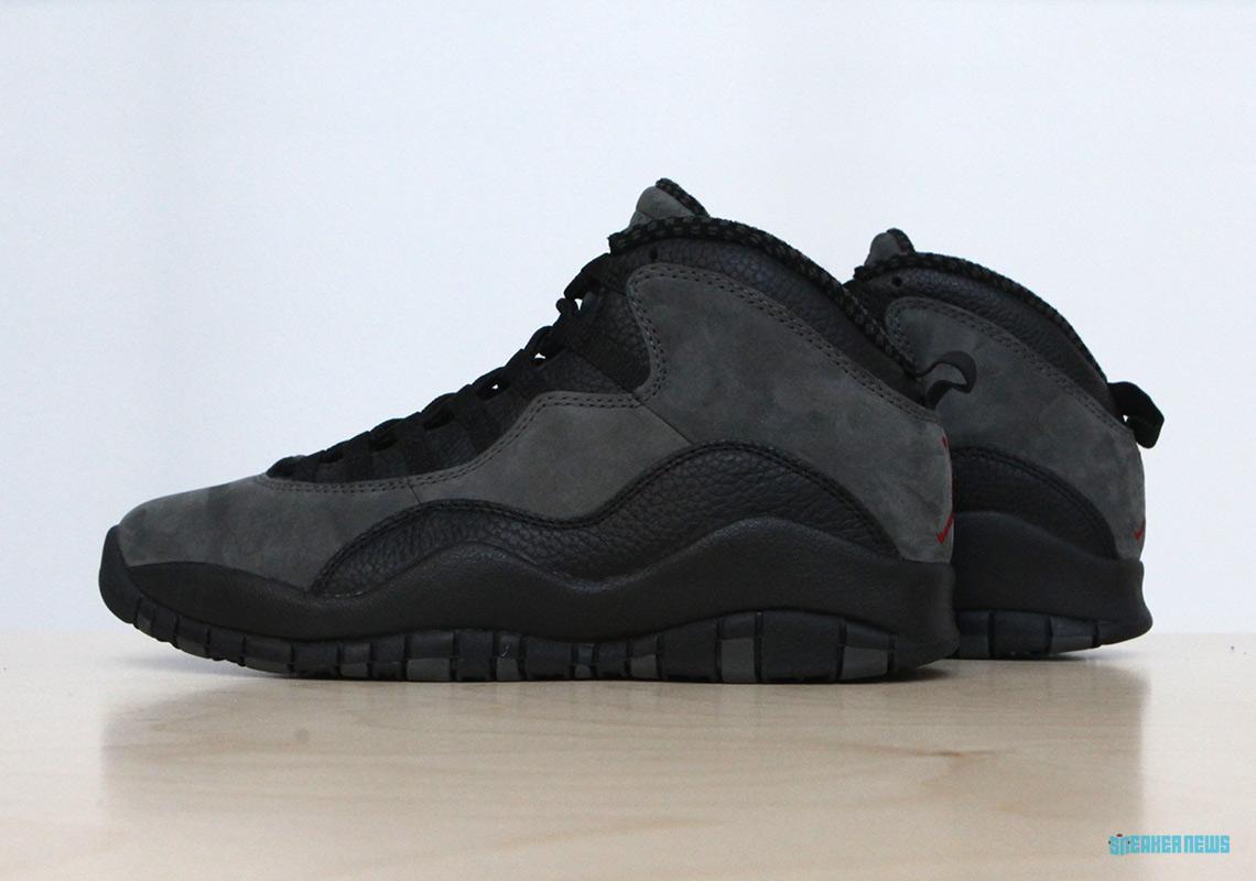 "big sale d1a9c 5ab10 Jordan Brand Keeps Every OG Detail For The Air Jordan 10 ""Shadow"""