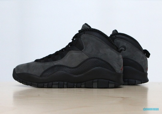 "Jordan Brand Keeps Every OG Detail For The Air Jordan 10 ""Shadow"""