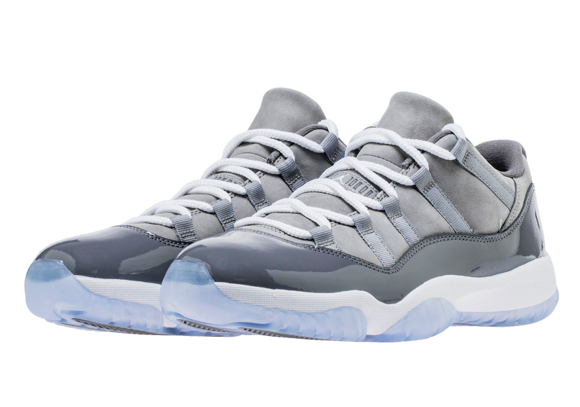 "low priced 53a7c b3877 Advertisement. Advertisement. Where to Buy  Air Jordan 11 Low ""Cool Grey"""