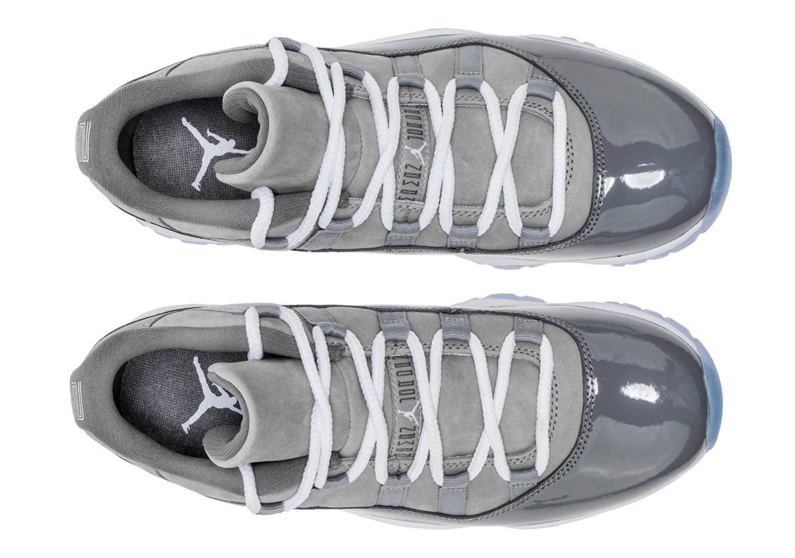 "cozy fresh 352e1 12cac Where to Buy  Air Jordan 11 Low ""Cool Grey"""
