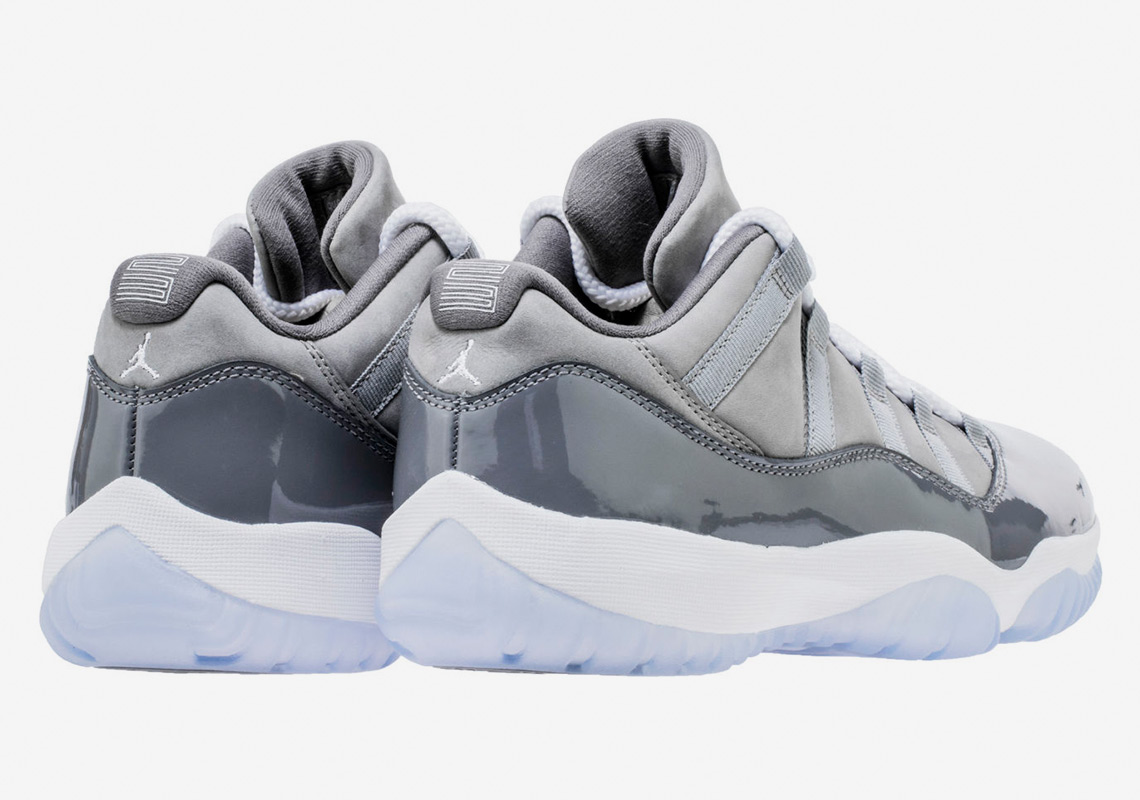 "53e3e3730517 Air Jordan 11 Low ""Cool Grey"" Set To Release For The First Time"