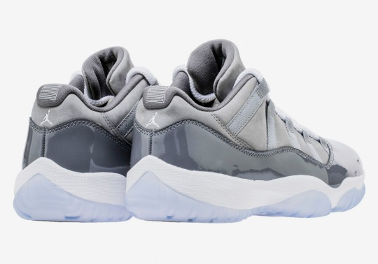 "Air Jordan 11 Low ""Cool Grey"" Set To Release For The First Time"
