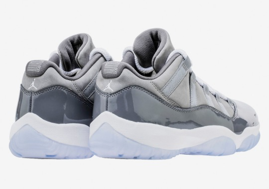"945442a99506a1 Air Jordan 11 Low ""Cool Grey"" Set To Release For The First Time"
