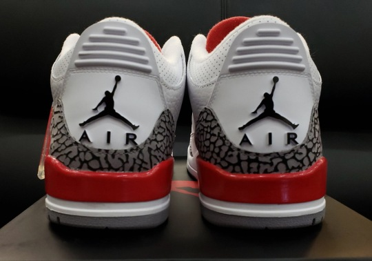 "Detailed Look At The Air Jordan 3 ""Katrina"""
