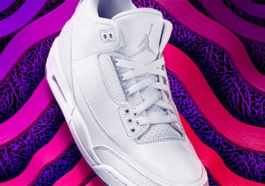 "First Look At The Air Jordan 3 ""Pure White"""