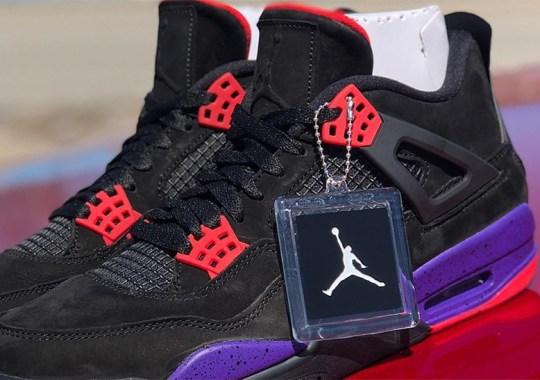 """The Air Jordan 4 """"Raptors"""" Was Originally Drake's Release"""