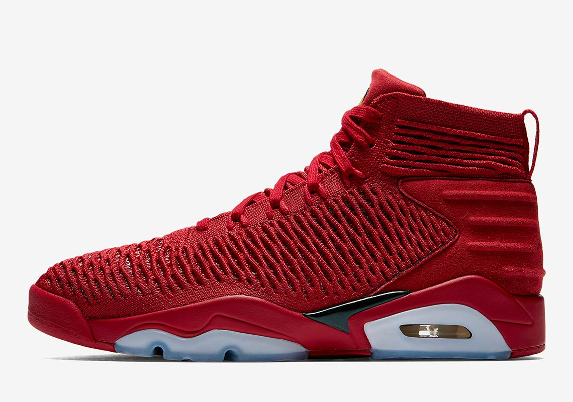 """competitive price e78f6 a208c The Jordan Flyknit Elevation """"Last Shot"""" Is Releasing In All Red"""