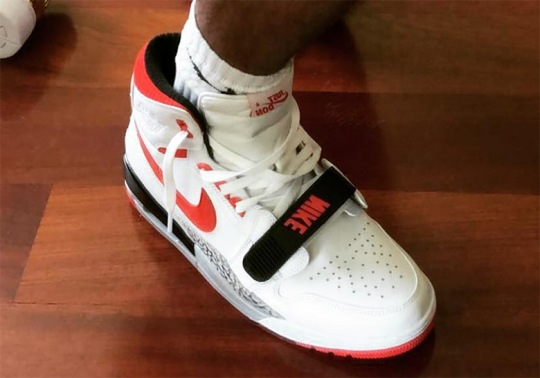 Don C Reveals New Colorway Of His Jordan Legacy 312 Shoe
