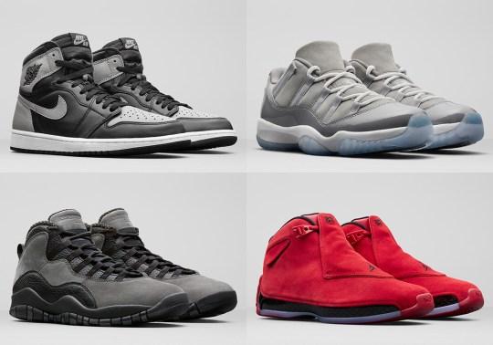 Jordan Brand Unveils Summer 2018 Footwear