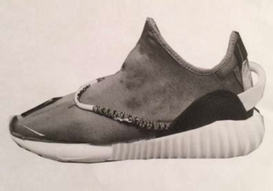 Kanye West Shares Early Photoshop Rendering Of The adidas Yeezy Boost 350
