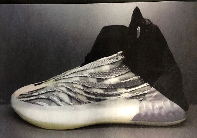 8e380dbc7547 First Look At Kanye West s adidas Yeezy Basketball Shoe