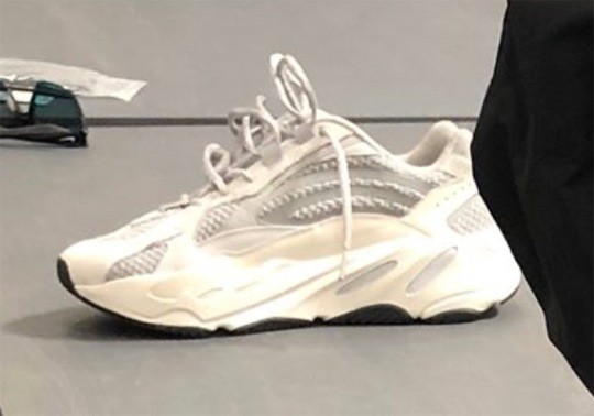 Kanye West Previews A New adidas Yeezy Boost Wave Runner Model