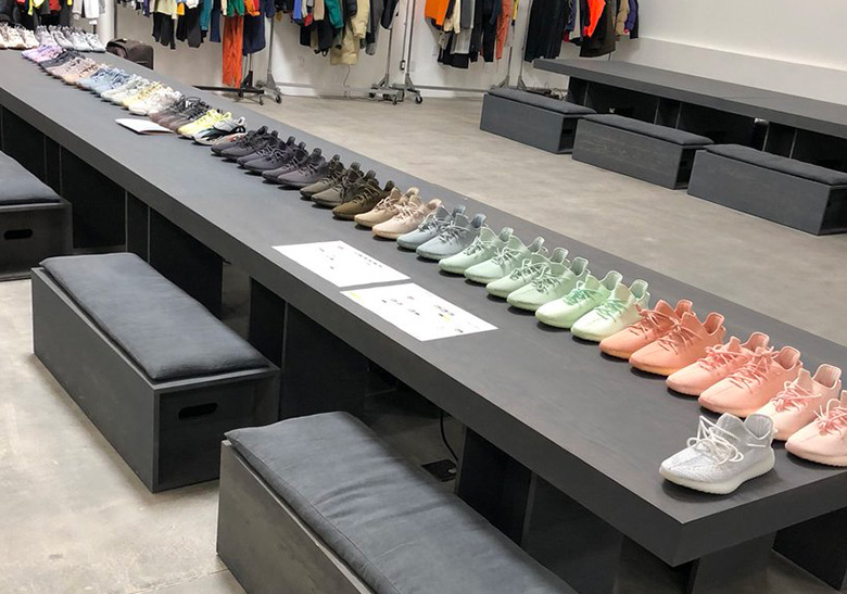 Kanye West Reveals adidas Yeezy Samples