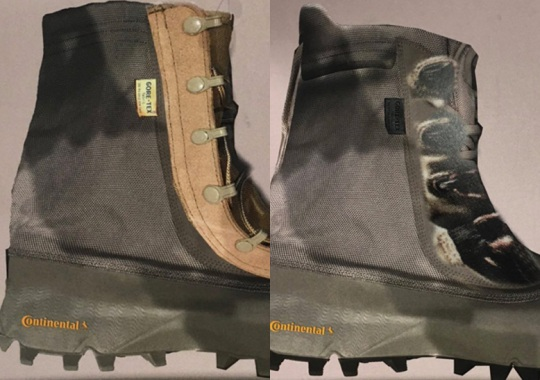 Kanye West Reveals Early Samples Of The Yeezy 1050 Boot