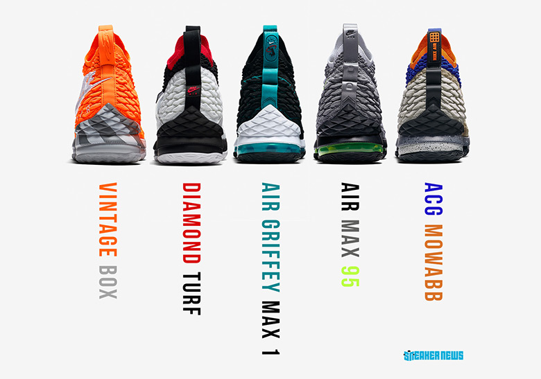 timeless design 8425c 59c83 The Entire #LeBronWatch Collection Is Releasing At Foot ...