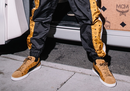 Luxury Brand MCM And Puma To Release Suede 50 Collaboration