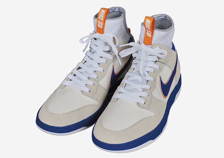 the latest 79620 1a062 ... where to buy medicom and nike bring back their famed orange blue dunk  in new form