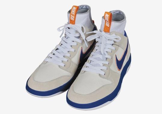 MEDICOM And Nike Bring Back Their Famed Orange/Blue Dunk In New Form