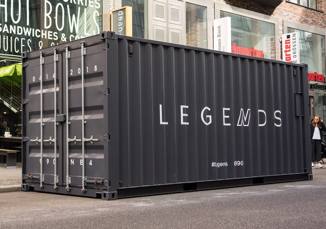 brand new 3890e 1237f New Balance Drops Mysterious Shipping Containers For The ...