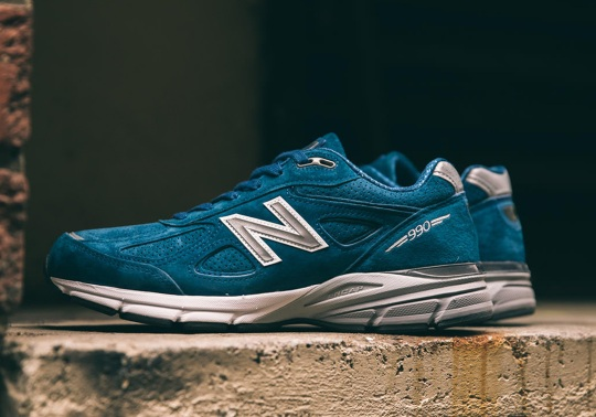 "New Balance 990v4 ""North Sea"" Brings A Refreshing Teal"