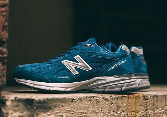 """New Balance 990v4 """"North Sea"""" Brings A Refreshing Teal"""