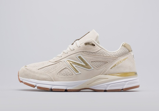 """New Balance 990v4 Releases In A Crisp """"Off White"""" Colorway"""