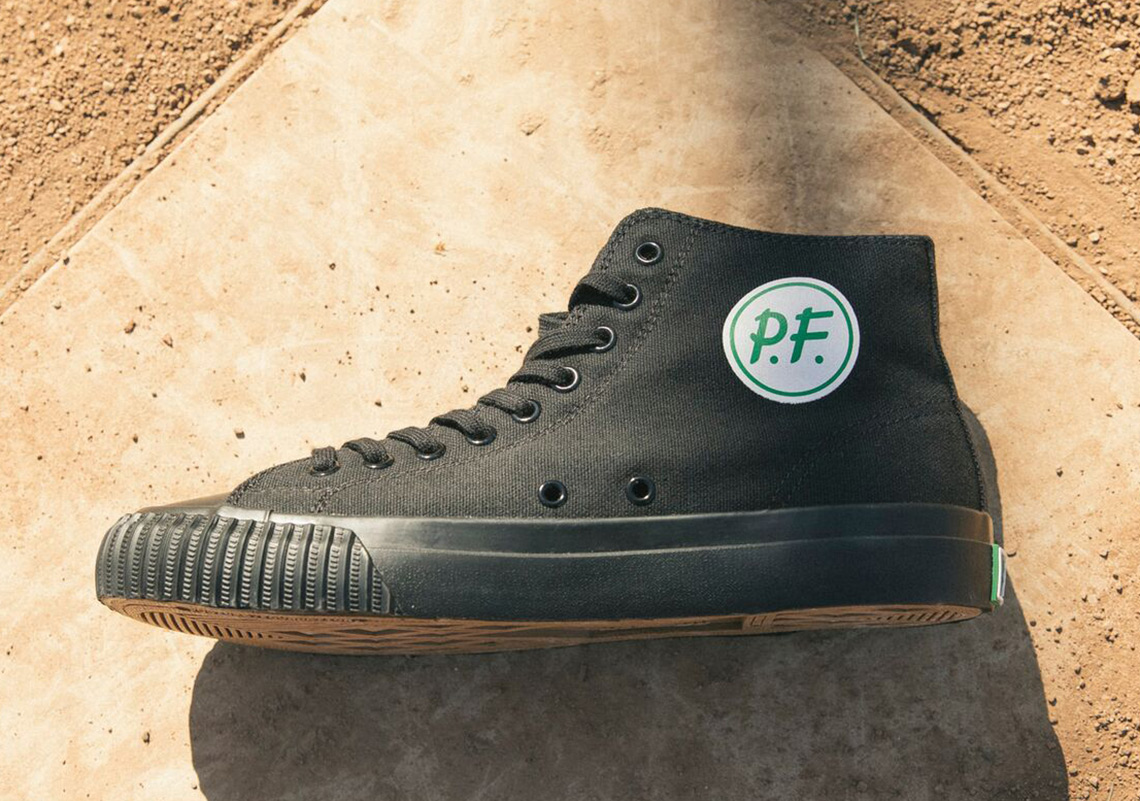 67e6a4e7a40 New Balance x PF Flyers Sandlot Baseball Cleat Release Info ...