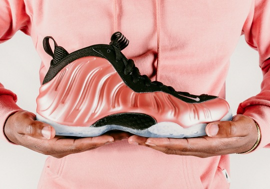 "Detailed Look At The Nike Air Foamposite One ""Rust Pink"""