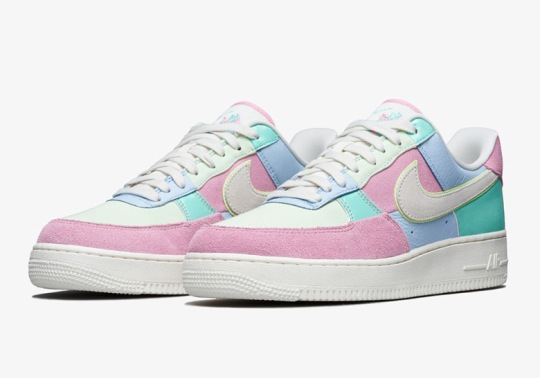 "This Year's Nike Air Force 1 Low ""Easter"" Will Be A Little Late"