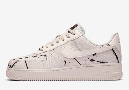 "Nike Gets Premium With The Air Force 1 Low ""Phantom Snakeskin"""