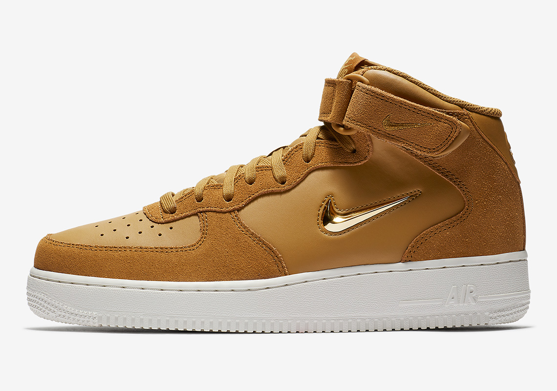 Nike Air Force 1 Mid Jewel Release Info 804609 200 804609
