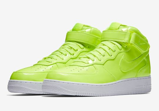 This Nike Air Force 1 Mid Has UV-Treated Uppers With Hidden Details