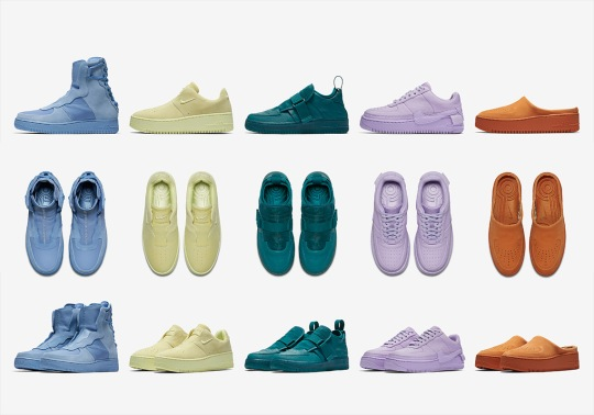 """A Complete Look At The Air Force 1s From The """"Reimagined"""" Pack"""