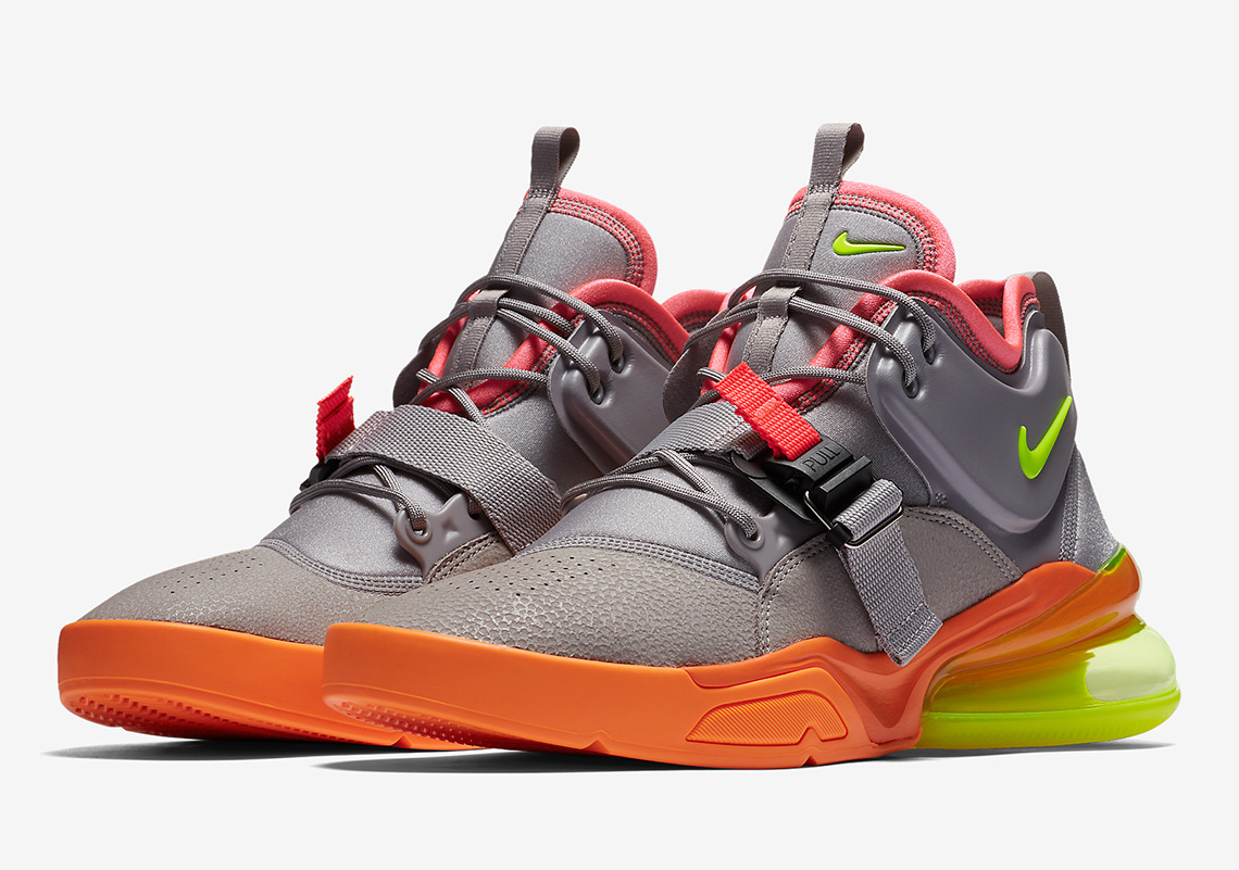"""79c0227b9a29 Nike Air Force 270 In """"Sherbet"""" Colors Set To Release Soon"""